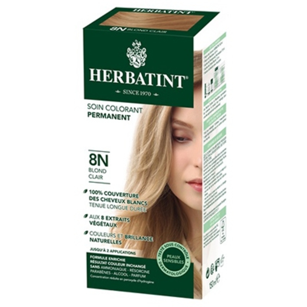 Herbatint coloration blond clair 8n - 120.0 ml - gel colorant - herbatint -5770