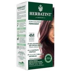 Herbatint coloration chatain acajou 4m - gel colorant - herbatint -5778