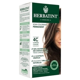 Herbatint coloration chatain cendré 4c - 120.0 ml - gel colorant - herbatint -5853