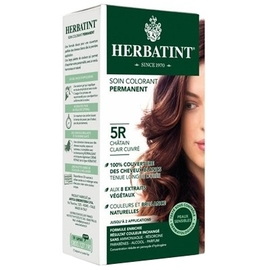 Herbatint coloration chatain clair cuivré 5r - 120.0 ml - gel colorant - herbatint -5782