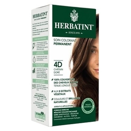 Herbatint coloration chatain doré 4d - 120.0 ml - gel colorant - herbatint -5773