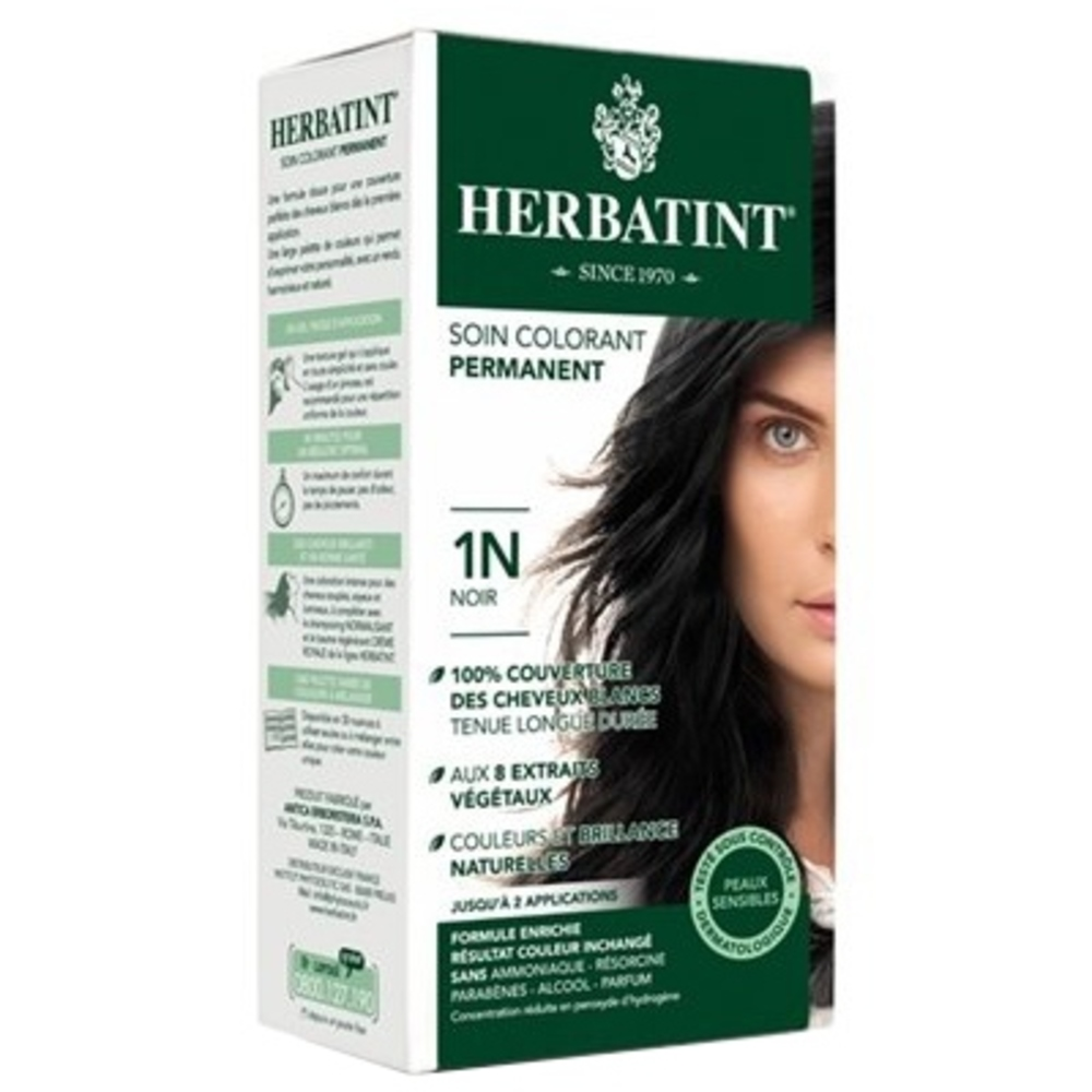 Herbatint coloration noir 1n - 120.0 ml - gel colorant - herbatint -5763