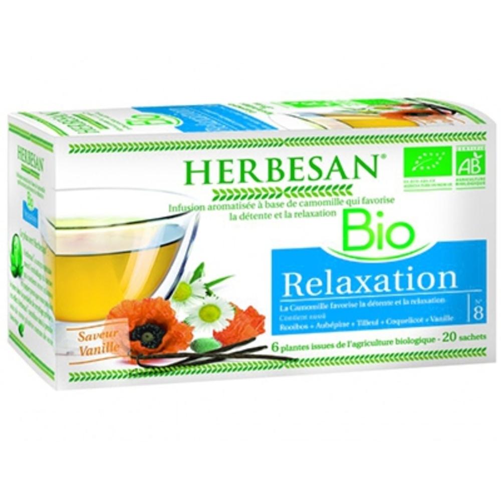 HERBESAN BIO Relaxation - 20.0 unites - Infusion Bio - Herbesan -142202