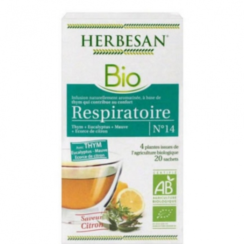 HERBESAN BIO Respiratoire - Herbesan -204056