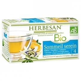 Herbesan bio sommeil serein - 20.0 unites - infusion bio - herbesan -132405