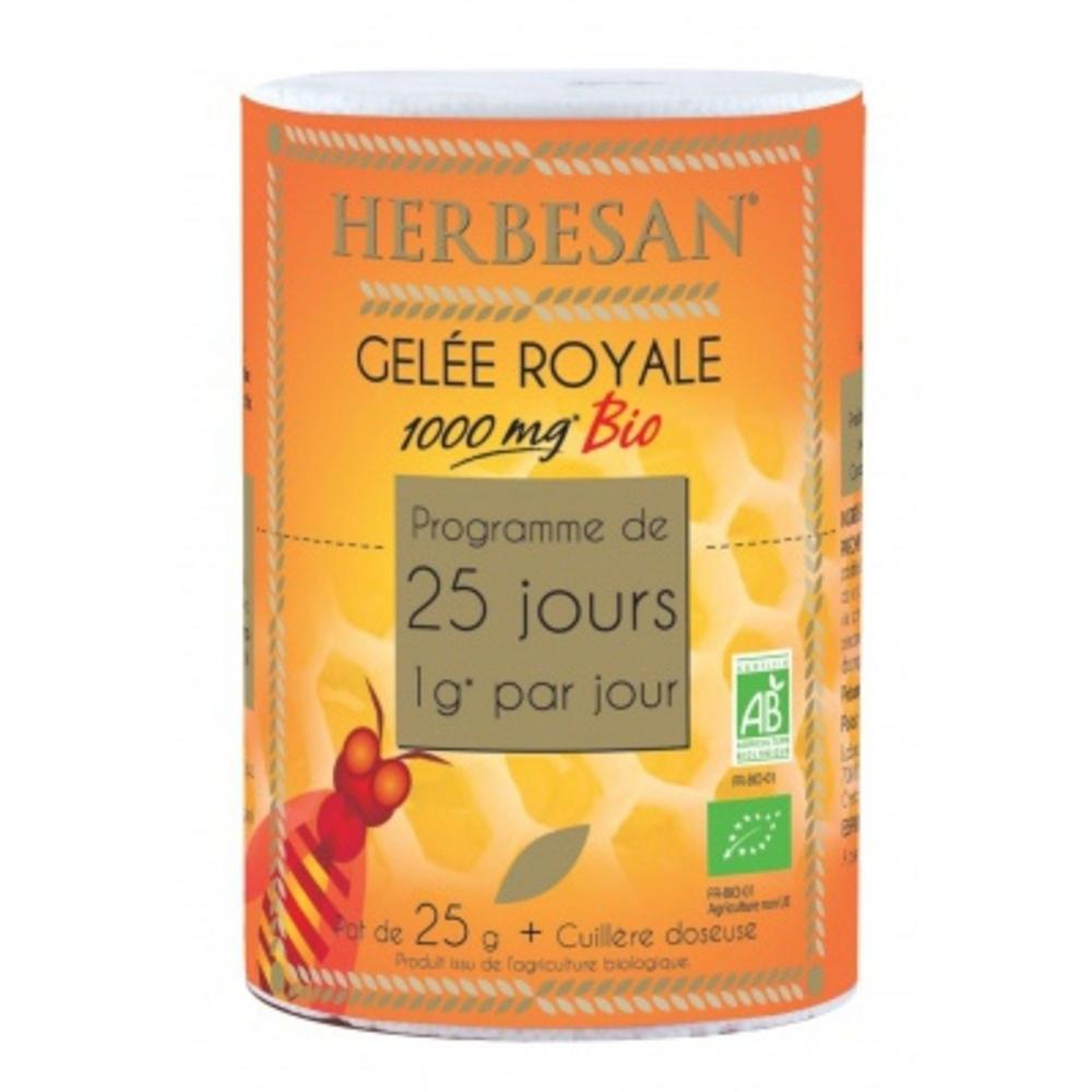 Herbesan gelée royale 1000mg bio - herbesan -197180