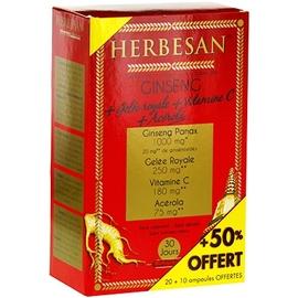 Herbesan ginseng + gelée royale - promo - herbesan -194495