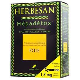 Herbesan hepadetox - 45.0 unites - transit - digestion - herbesan -139239