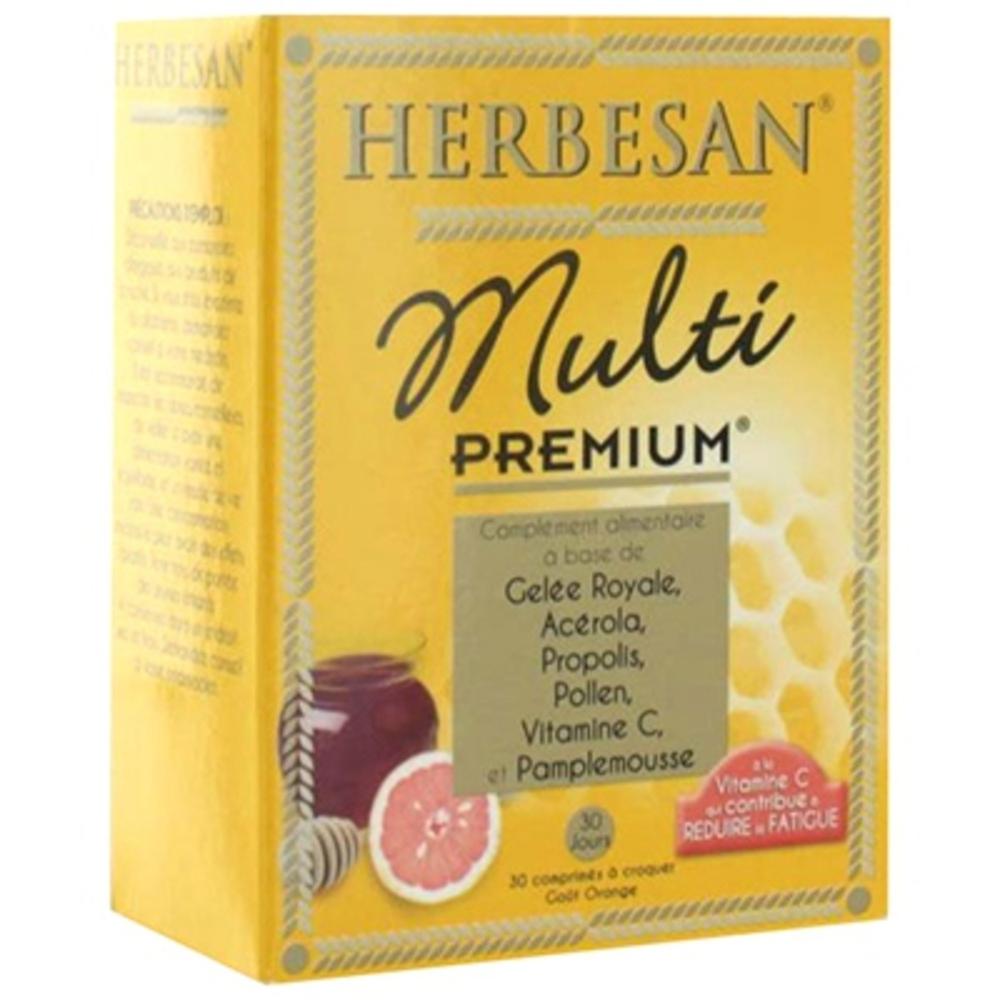 Herbesan multi premium - 30.0 unites - vitalité - herbesan -138708