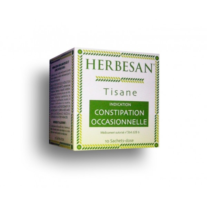 Herbesan tisane constipation occasionnelle - 10 sachets Super diet-192658