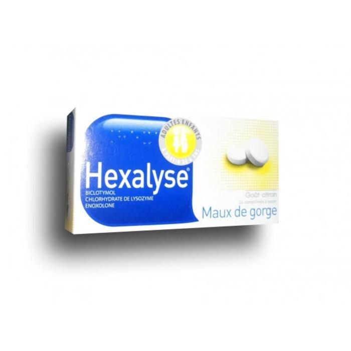 Hexalyse - 24 comprimés à sucer Bouchara recordati-192828