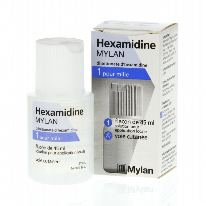 Hexamidine 1 pour mille solution - 45ml Mylan-206958