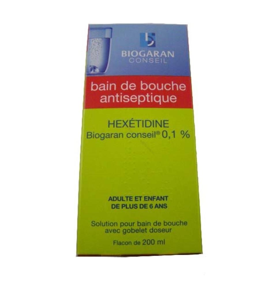 Hexetidine  conseil 0,1% - 200.0 ml - biogaran -192604