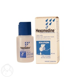 Hexomedine 1 pour mille solution - 45.0 ml - sanofi -194147
