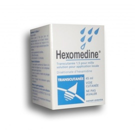 Hexomedine transcutane 1,5 pour mille solution - 45.0 ml - sanofi -194122