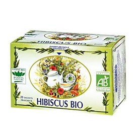 Hibiscus - 20.0 unites - tisanes simples bio - romon nature -16189