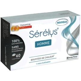 Homme - 60 comprimés - serelys -206650