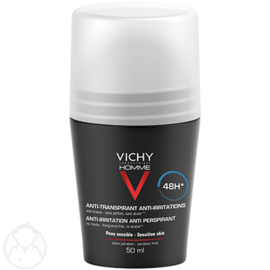 Homme déodorant anti-transpirant 48h - 50.0 ml - vichy homme - vichy -99992