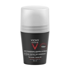 Homme déodorant anti-transpirant 72h - 50.0 ml - vichy homme - vichy Régulation intense-92573