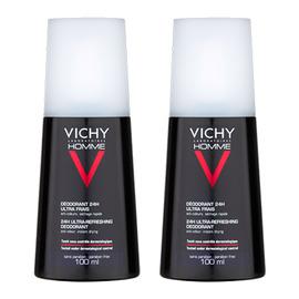 Homme déodorant ultra-frais - lot de 2 - divers - vichy -143123