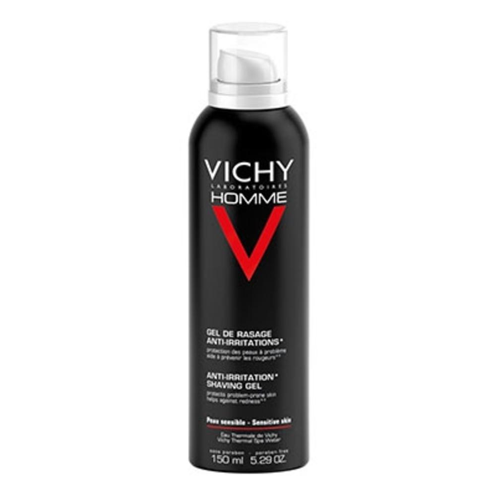 Homme gel de rasage anti-irritations - 150.0 ml - vichy homme - vichy -83139