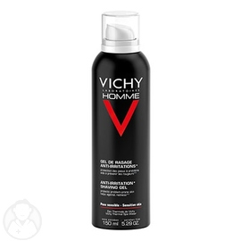 Homme gel de rasage anti-irritations - 150.0 ml - vichy homme - vichy -83139
