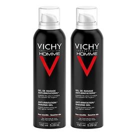 Homme gel de rasage anti-irritations - lot de 2 - divers - vichy -143125
