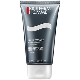 Homme gel nettoyant peau normale - 150ml - routine nettoyage/rasage - biotherm -205501