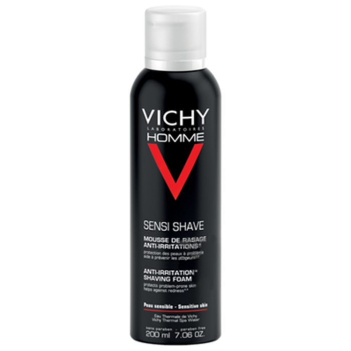 Homme mousse à raser anti-irritations Vichy-83138