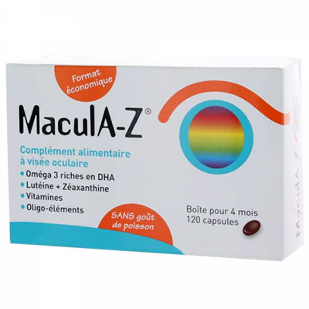 Horus pharma macula-z - 120 capsules - horus pharma -147989