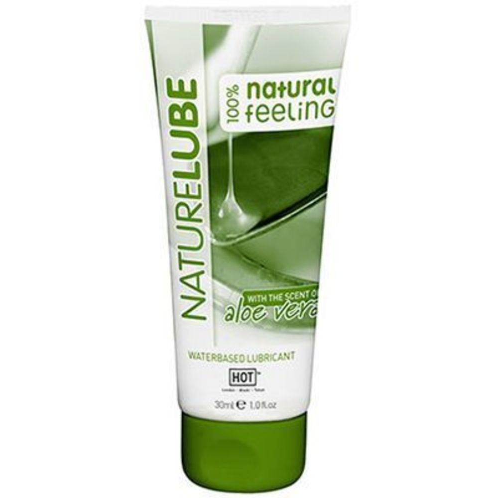Hot naturelube lubrifiant aloe vera 100ml - hot -225822