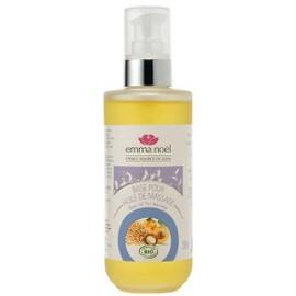 Huile base pour massage sésame/abricot/macadamia bio - 200.0 ml - huiles végétales + huiles essentielles - emma noël -6650