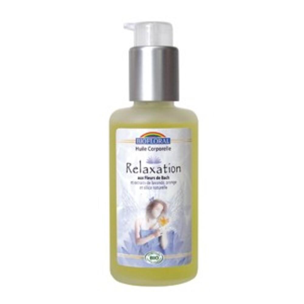 Huile corporelle relaxation bio - 100.0 ml - huiles corporelles - biofloral -8805