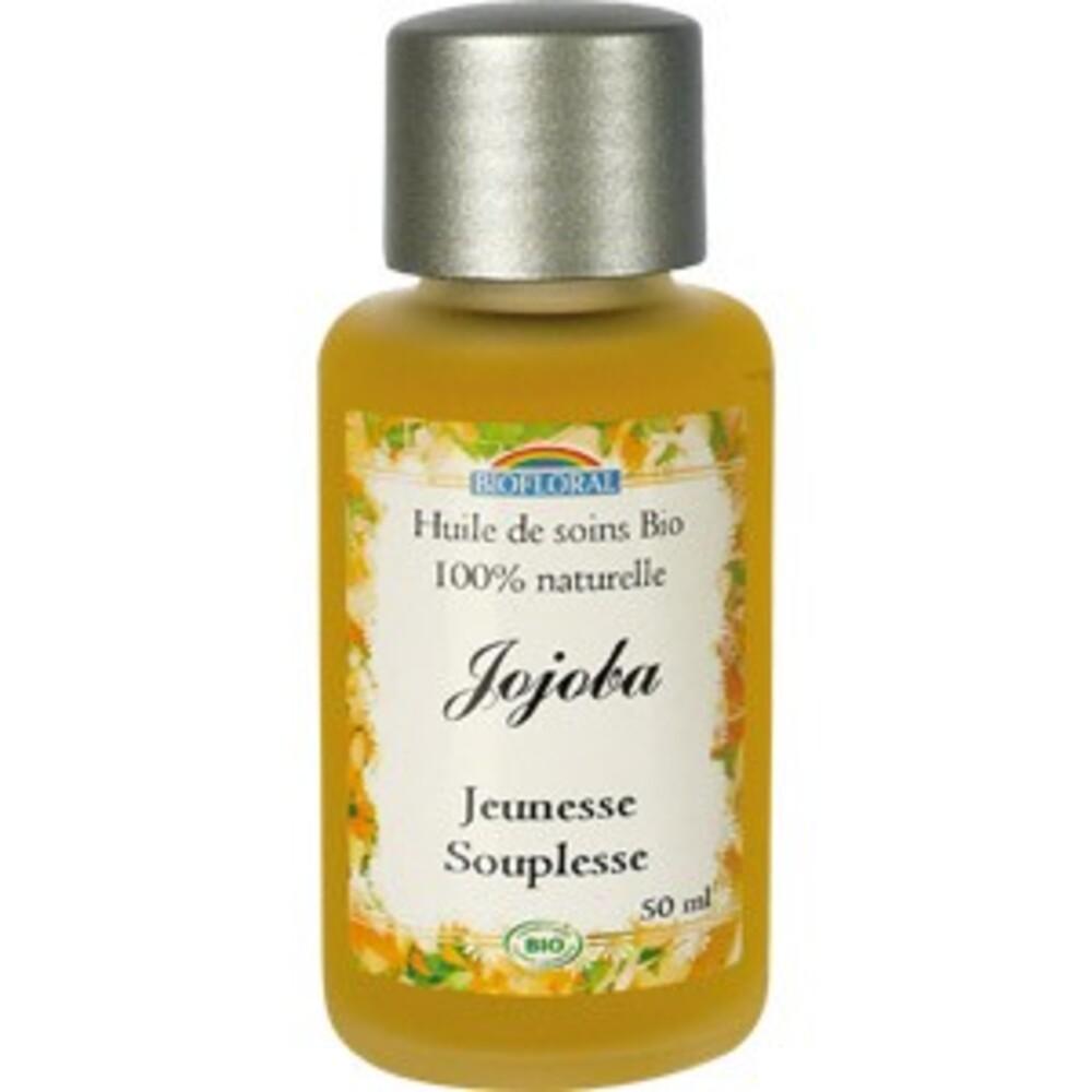Huile cosmétique jojoba bio - flacon 50 ml - divers - biofloral -134020
