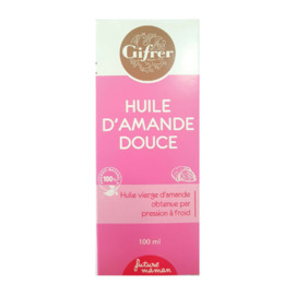 Huile d'amande douce 100ml - gifrer -190552