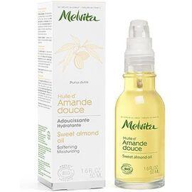 Huile d'amande douce bio 50ml - huiles de beaute - melvita -213352
