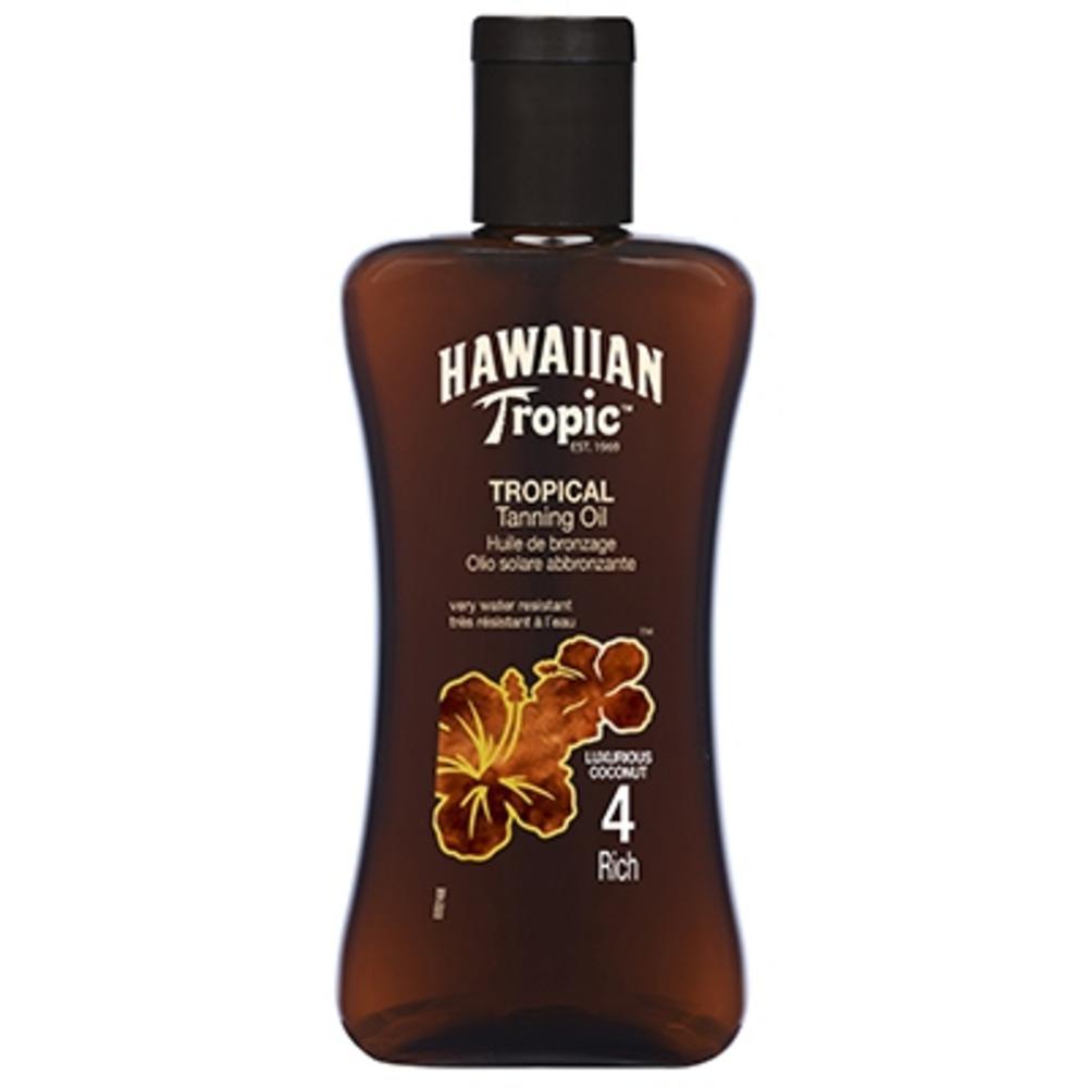Huile de bronzage riche - hawaiian tropic -195094