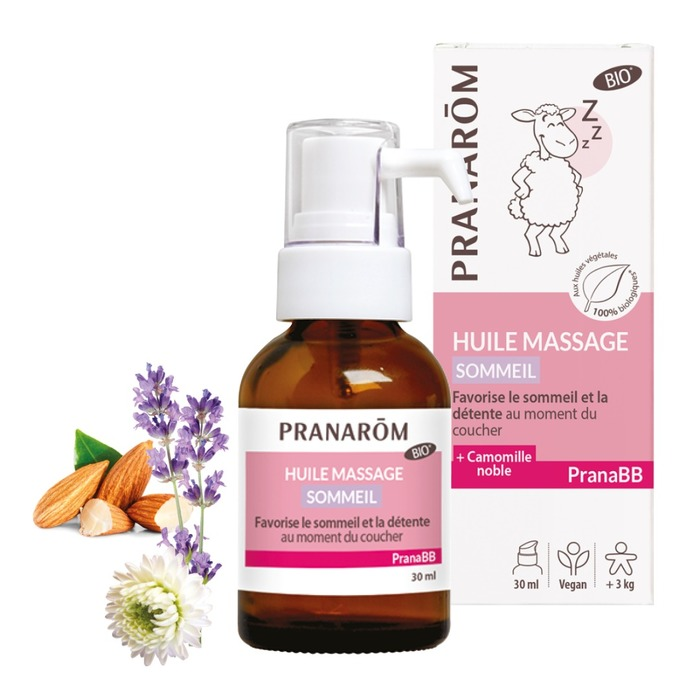 Huile de massage - sommeil Pranarom-230847