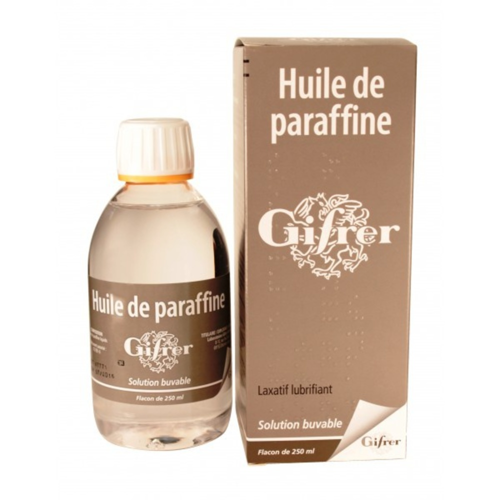 Huile de paraffine - 250.0 ml - gifrer -192761