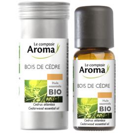 Huile essentielle bio bois de cèdre 10ml - le comptoir aroma -222064