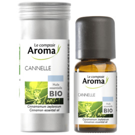 Huile essentielle bio cannelle 5ml - le comptoir aroma -221995