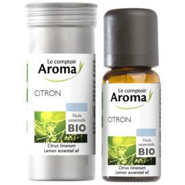 Huile essentielle bio citron 10ml - le comptoir aroma -221996