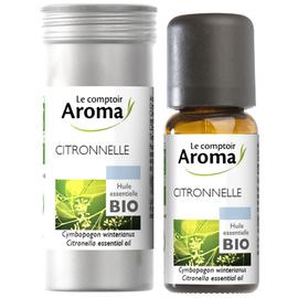 Huile essentielle bio citronnelle 10ml - le comptoir aroma -221997