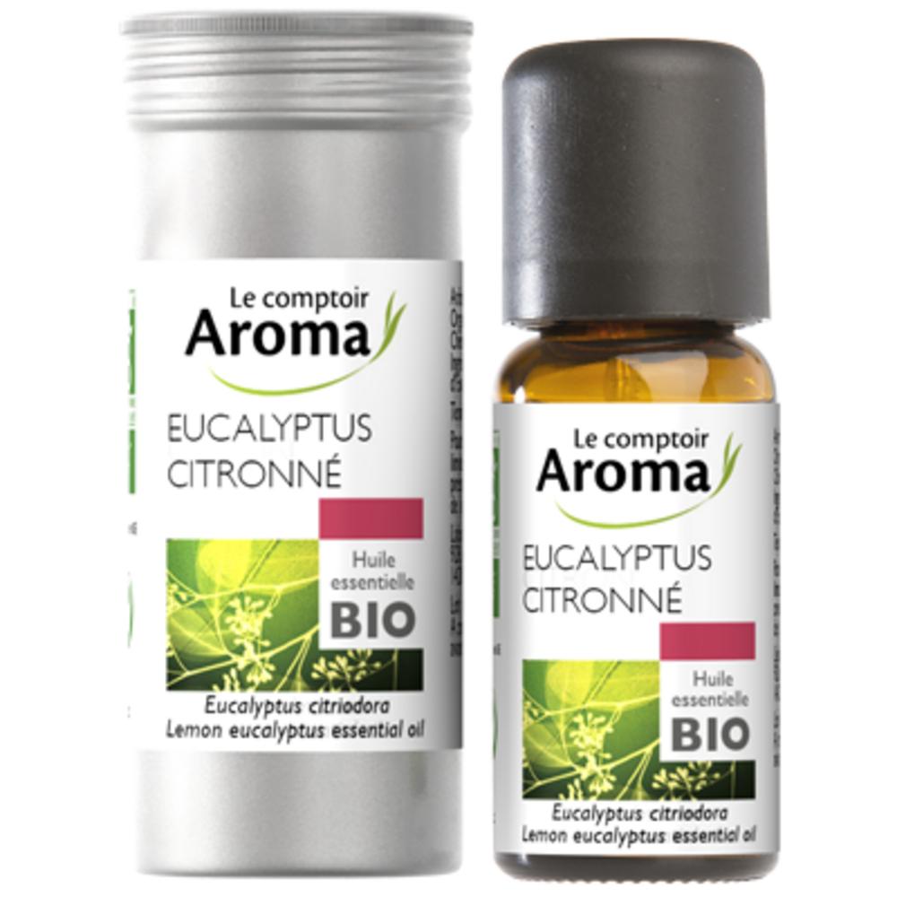 Huile Essentielle BIO Eucalyptus Citronné 10ml - Le Comptoir Aroma -222000