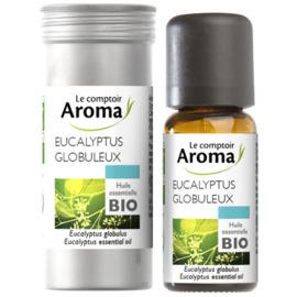 Huile essentielle bio eucalyptus globuleux 10ml - le comptoir aroma -221999
