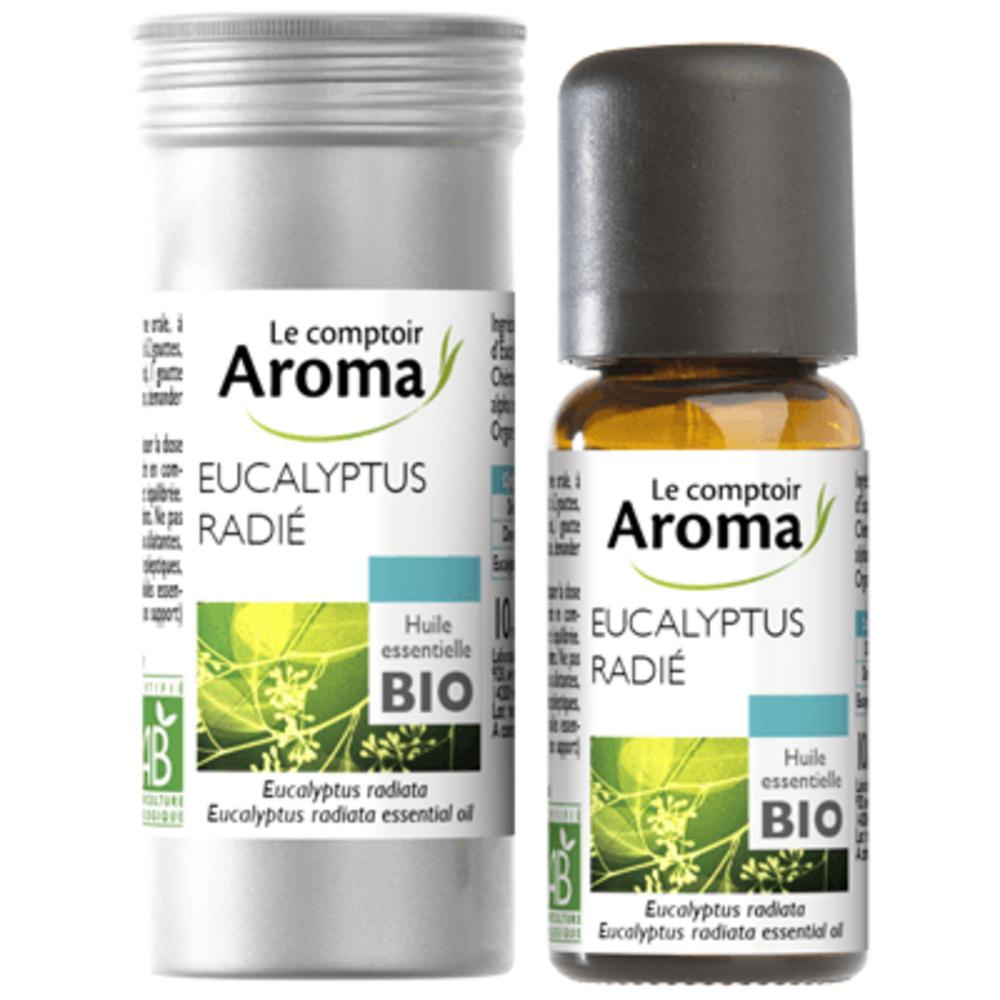 Huile Essentielle BIO Eucalyptus Radié 10ml - Le Comptoir Aroma -221998
