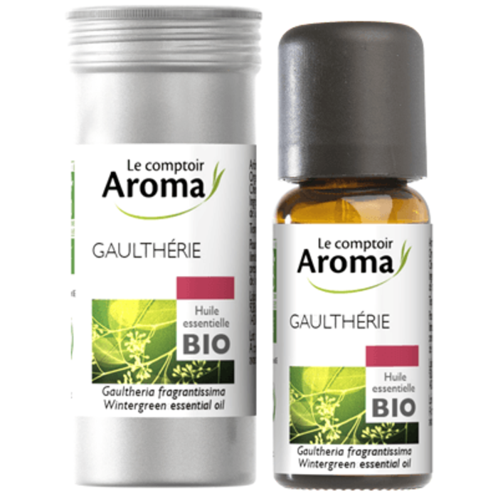 Huile essentielle bio gaulthérie 10ml Le comptoir aroma-222053