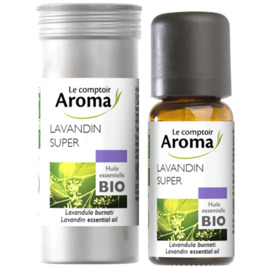 Huile essentielle bio lavandin super 10ml - le comptoir aroma -222007