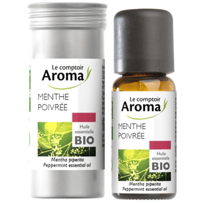 Huile essentielle bio menthe poivrée 10ml Le comptoir aroma-222010