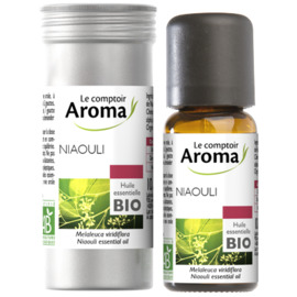 Huile essentielle bio niaouli 10ml - le comptoir aroma -222011